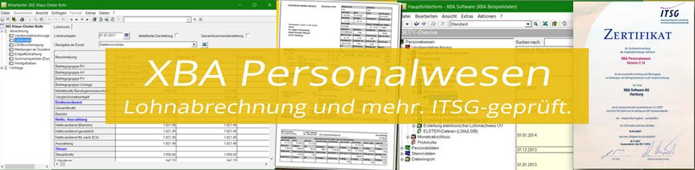 XBA Personalwesen - Lohnabrechnung und mehr